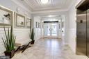 Entrance Foyer of the Building, Secure Inner Foyer - 20580 HOPE SPRING TER #207, ASHBURN