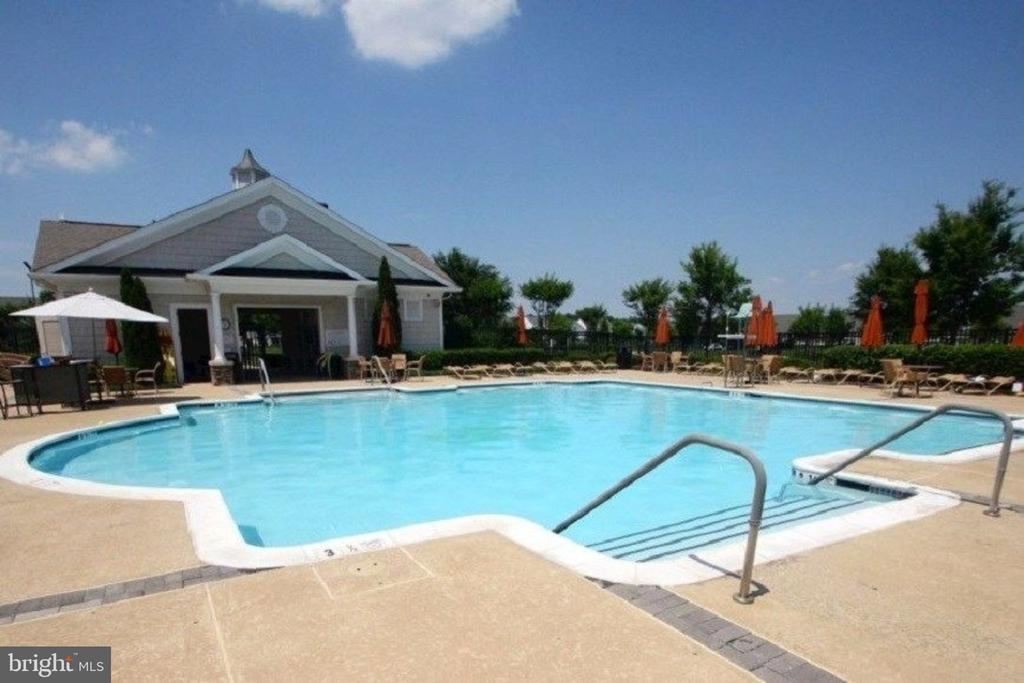 Pool with Restrooms, Showers  & Changing Area. - 20580 HOPE SPRING TER #207, ASHBURN
