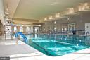 Indoor Heated Pool for Laps or Exercise Classes - 20580 HOPE SPRING TER #207, ASHBURN