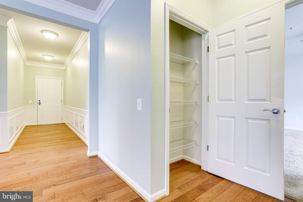 Add'l Pantry or Storage closet adjacent to Kitchen - 20580 HOPE SPRING TER #207, ASHBURN