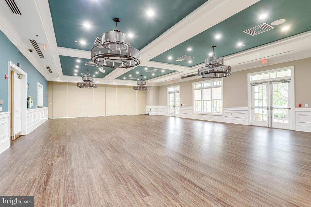 Our Ballroom with new Floor & Decor - 20580 HOPE SPRING TER #207, ASHBURN