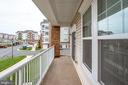 Lg Balcony located in the front of the Building - 20580 HOPE SPRING TER #207, ASHBURN