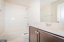 Lower level full bathroom. - 502 APRICOT ST, STAFFORD