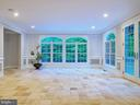 Another view of the conservatory/sunroom - 11009 HAMPTON RD, FAIRFAX STATION