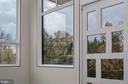 Contemporary pivot door for front entrance - 1120 GUILFORD CT, MCLEAN