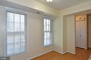 Plenty of room for a small kitchen table. - 6463 FENESTRA CT #50C, BURKE
