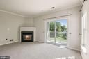 Angled Gas Fireplace - 20220 MACGLASHAN TER, ASHBURN