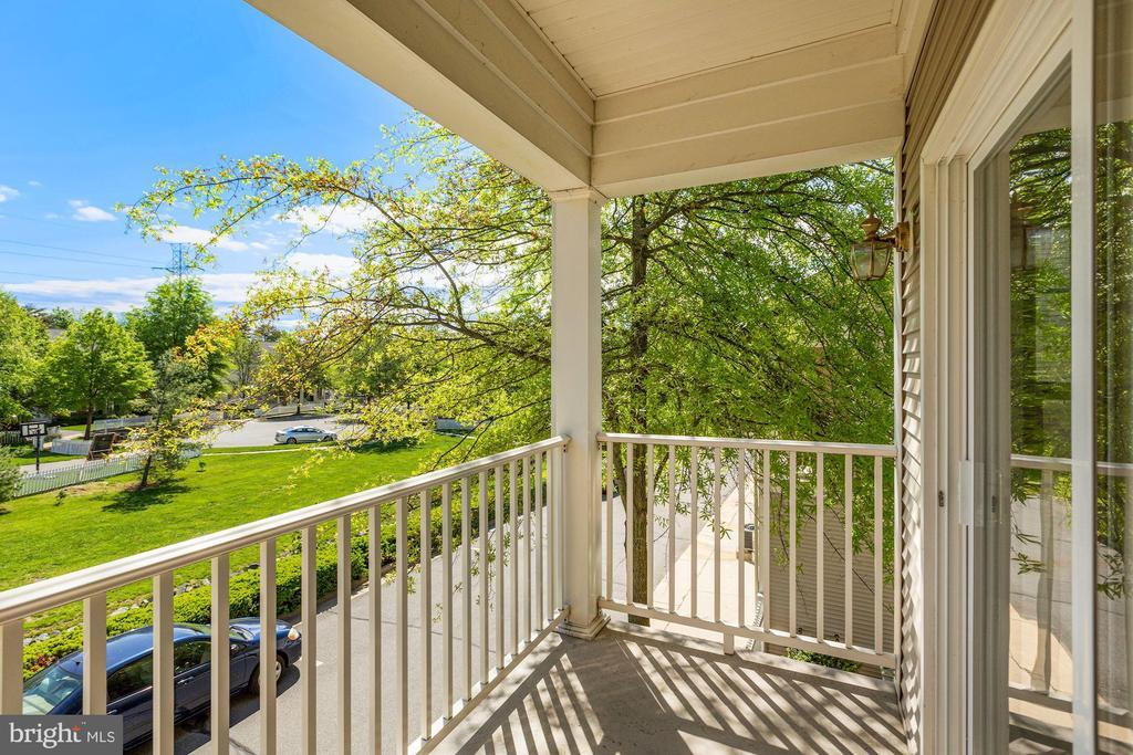 Beautiful Covered Balcony views - 20220 MACGLASHAN TER, ASHBURN