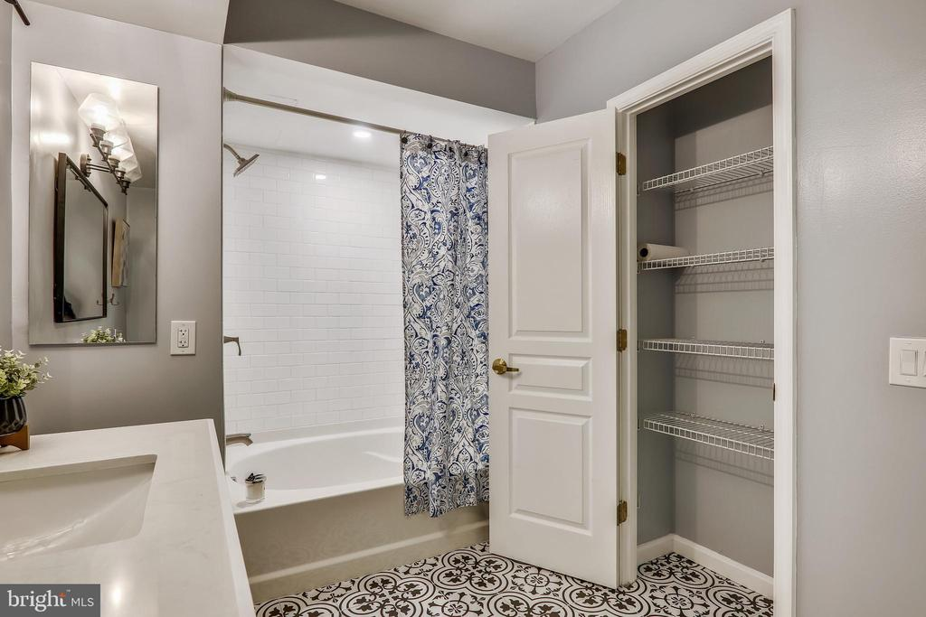 Lots of Bathroom Storage - 616 E ST NW #520, WASHINGTON