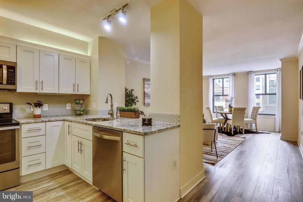 Renovated Kitchen - 616 E ST NW #520, WASHINGTON