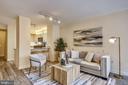 Living Area - 616 E ST NW #520, WASHINGTON