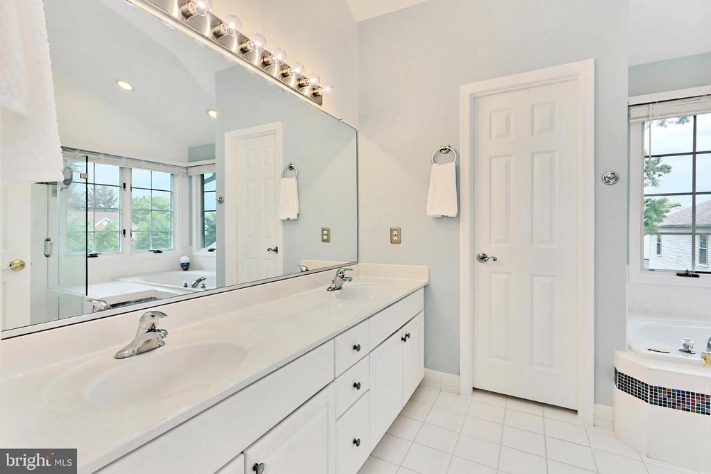 Updated Primary Bathroom - 508 DRANESVILLE RD, HERNDON