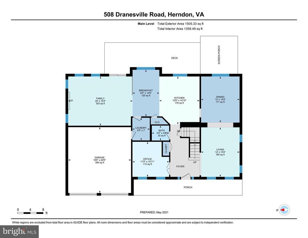 - 508 DRANESVILLE RD, HERNDON