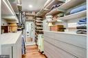 Master bedroom custom closet - 11967 GREY SQUIRREL LN, RESTON