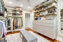 5th bedroom converted into custom closet - 11967 GREY SQUIRREL LN, RESTON