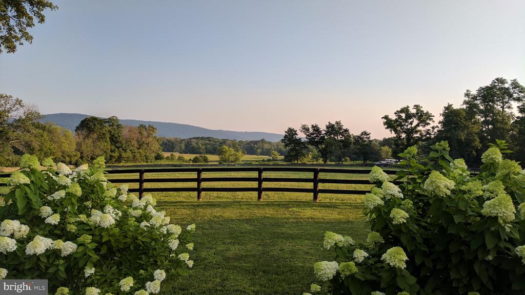 View from rear of home - 20775 AIRMONT RD, BLUEMONT