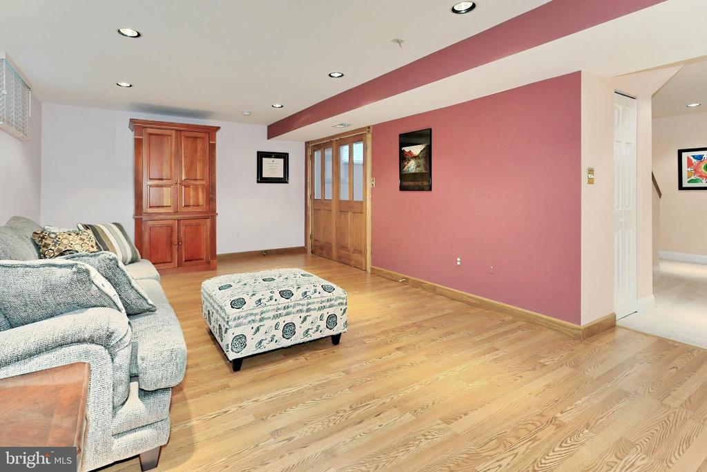 Rec Rm with recessed lighting - 508 DRANESVILLE RD, HERNDON