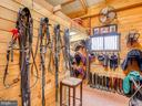 Tack room in stable - 20775 AIRMONT RD, BLUEMONT