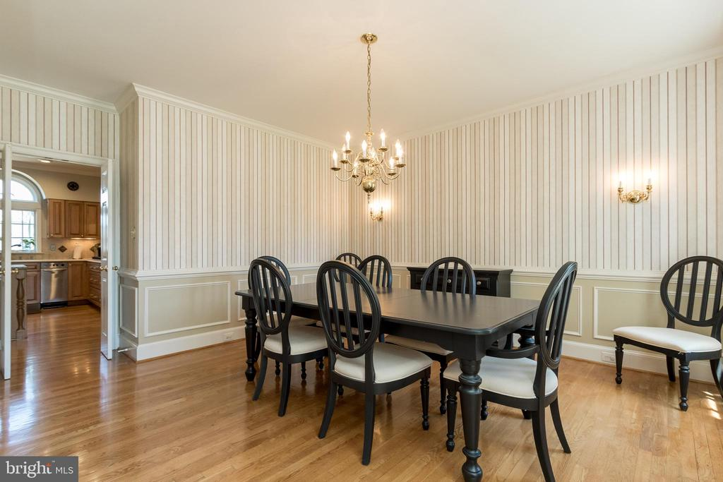 Dining Room (new wall sconces to be installed) - 13645 MELSTONE DR, CLIFTON