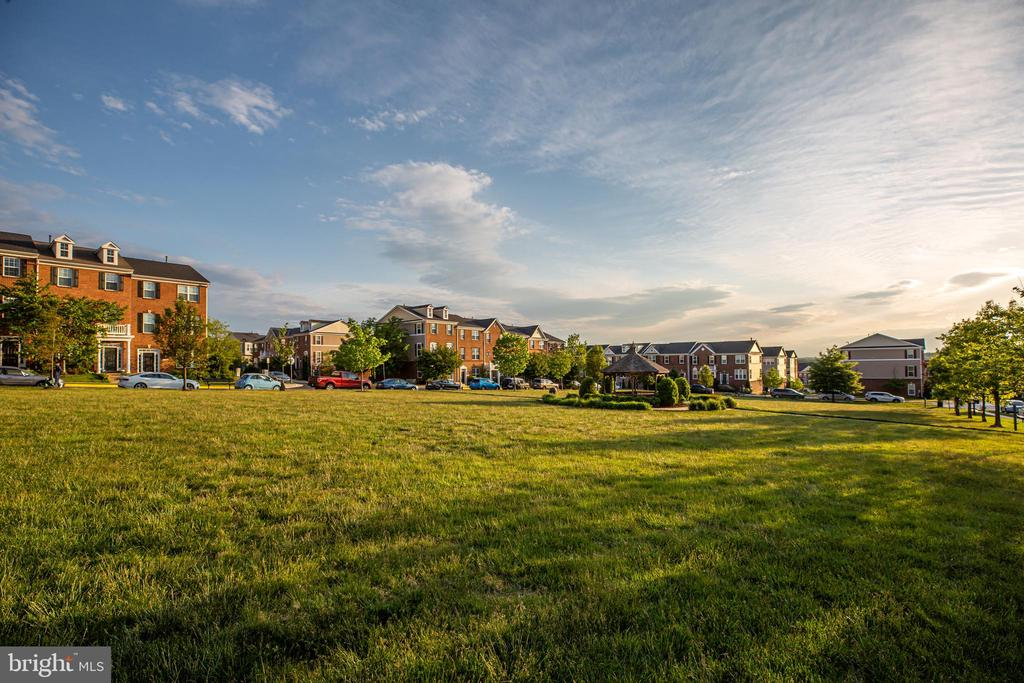 Large park steps away from your new home - 42810 LAUDER TER, ASHBURN