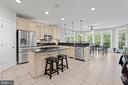Vast Kitchen and Breakfast Room - 43327 RIVERPOINT DR, LEESBURG