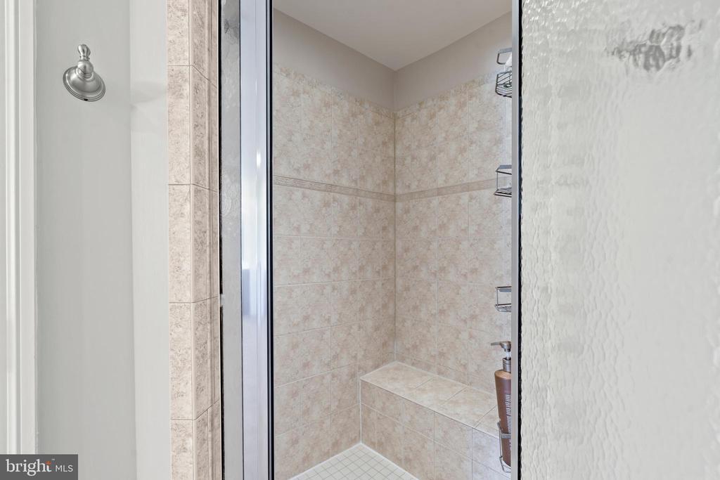 Shower in Ensuite Bath - 43327 RIVERPOINT DR, LEESBURG
