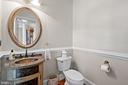 Main Level Half Bath - 43327 RIVERPOINT DR, LEESBURG