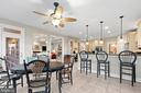 Kitchen and Breakfast Room - 43327 RIVERPOINT DR, LEESBURG