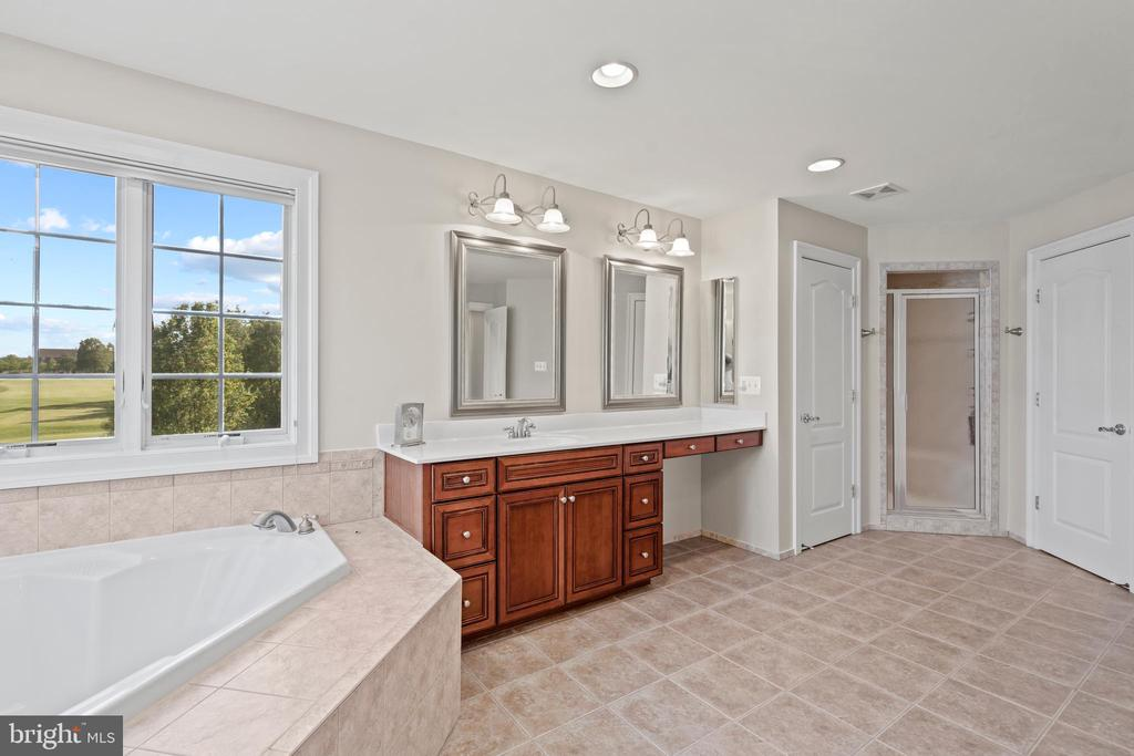 Golfcourse Views from the Soaking Tub - 43327 RIVERPOINT DR, LEESBURG