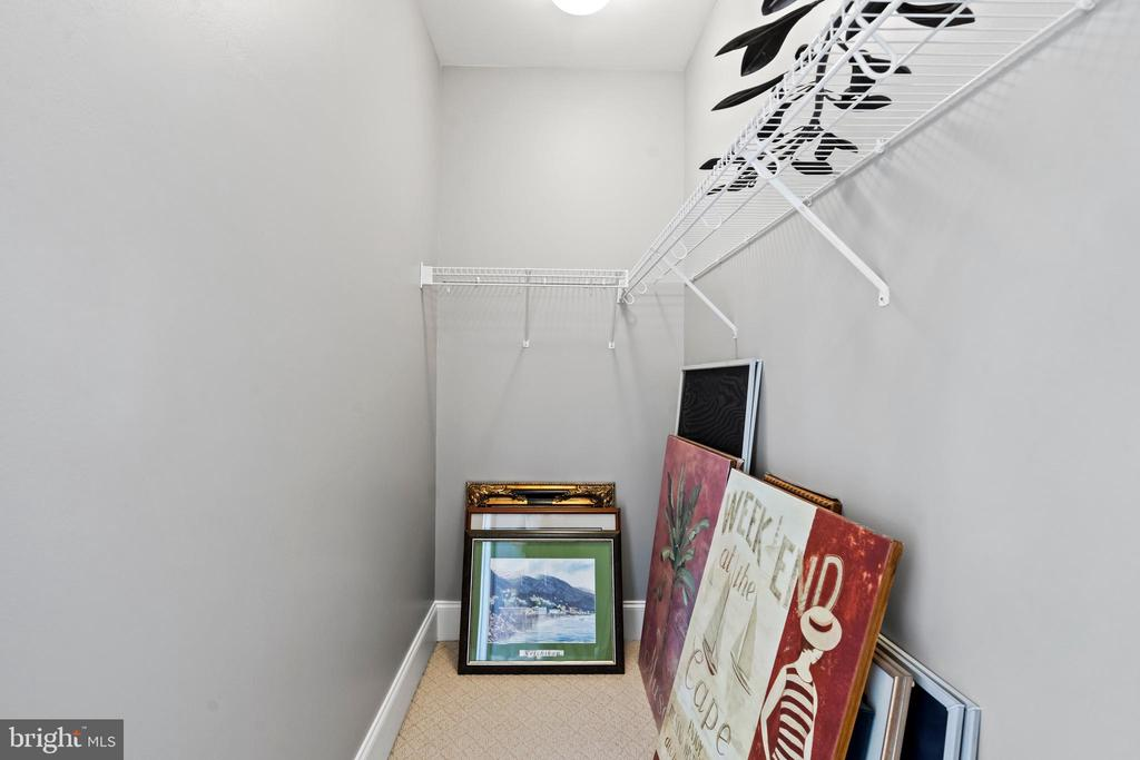 Fourth Bedroom Walk-in Closet - 43327 RIVERPOINT DR, LEESBURG