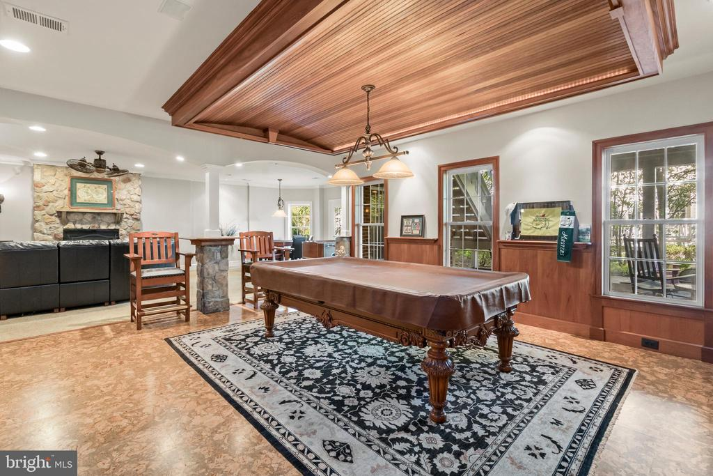 Plently of Space for Billiards and other games - 43327 RIVERPOINT DR, LEESBURG
