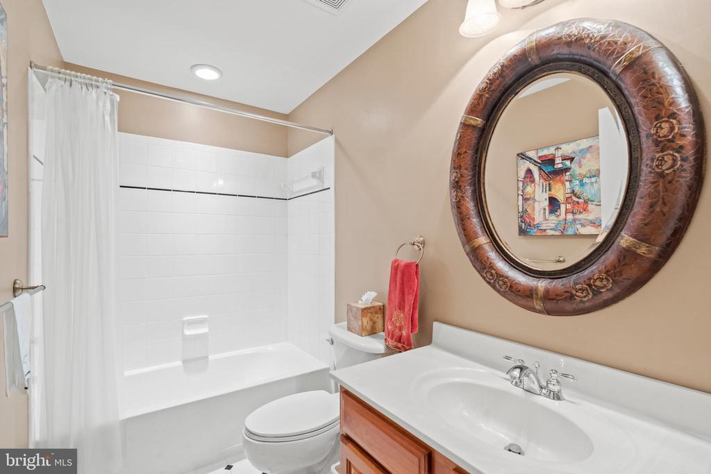 Fifth Full Bath in Lower Level - 43327 RIVERPOINT DR, LEESBURG