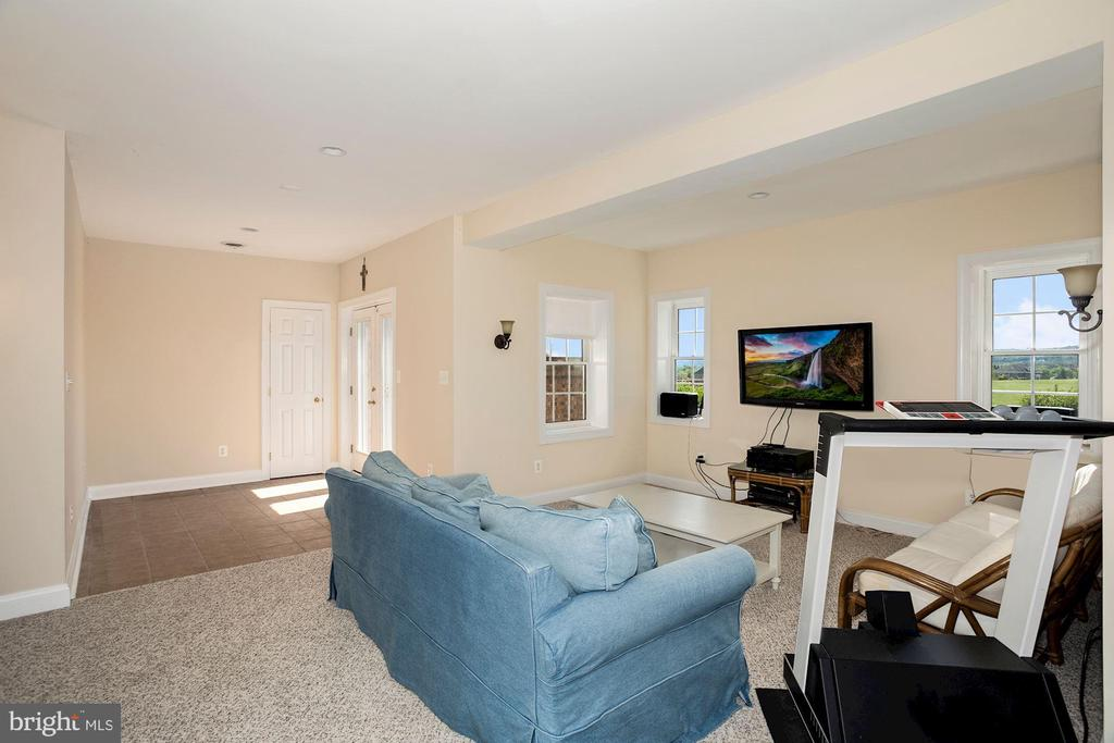 Lower level Recreation room - 14915 LIMESTONE SCHOOL RD, LEESBURG