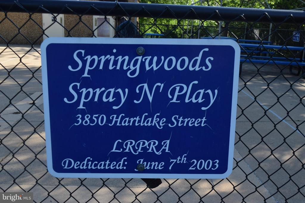 Spray and Play Area - 11755 TOLSON PL #11755, WOODBRIDGE