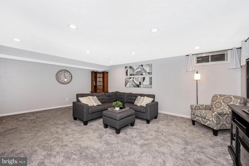 Recessed lighting - 17004 INDIAN GRASS DR, GERMANTOWN