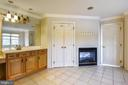 Owner's bath with fireplace - 20179 GLEEDSVILLE RD, LEESBURG