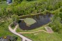 Pond with golf green - 20179 GLEEDSVILLE RD, LEESBURG