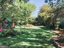 Playground area in rear yard - 7716 RIDGECREST DR, ALEXANDRIA