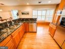 Kitchen view to bay window - 7716 RIDGECREST DR, ALEXANDRIA