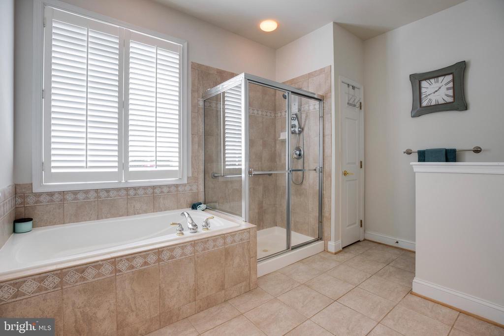 Soaking tub & glass shower - 6901 BROADLEAF TER, GAINESVILLE