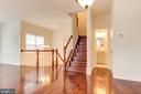 Stairs leading up and down - 44257 MOSSY BROOK SQ, ASHBURN