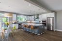 Gourmet kitchen - 4516 BURKE STATION RD, FAIRFAX