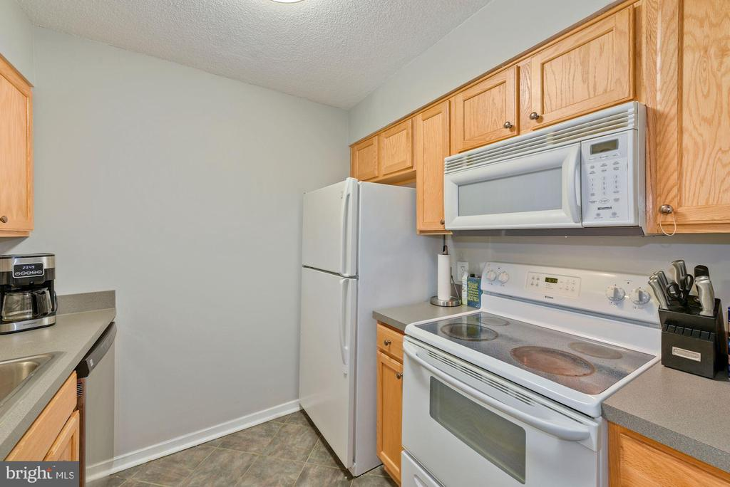 Well appointed kitchen. - 2111 WISCONSIN AVENUE, NW #420, WASHINGTON