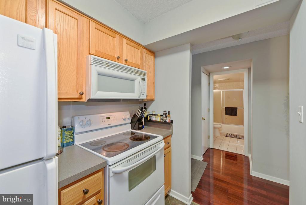 Kitchen - 2nd view. - 2111 WISCONSIN AVENUE, NW #420, WASHINGTON