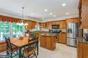 Renovated kitchen, maple cabinets, SS appliances - 13619 BRIDGELAND LN, CLIFTON