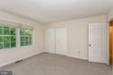 Huge bedroom #4 with oversized closet - 13619 BRIDGELAND LN, CLIFTON
