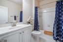 Basement full bathroom - 44246 SILVERPALM GROVE TER, LEESBURG