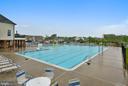 Community pool - 24953 EARLSFORD DR, CHANTILLY