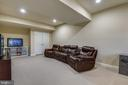 Recreation room/office - 24953 EARLSFORD DR, CHANTILLY