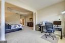 Sitting room off the main bedroom - 24953 EARLSFORD DR, CHANTILLY